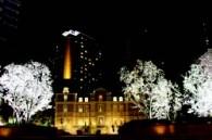 Ebisu Garden Terrace at Night