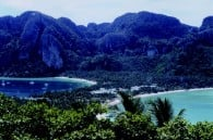 Phuket Island before the 2004 tsunami hit, wiping out much of the tourist industry.
