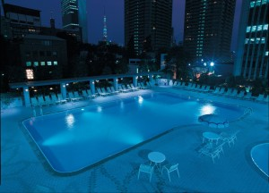 ANA Intercontinental Tokyo pool