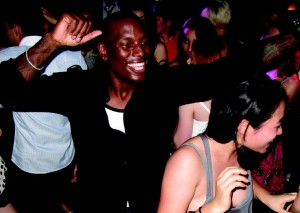 Tyrese keeps them rocking at the New Lex