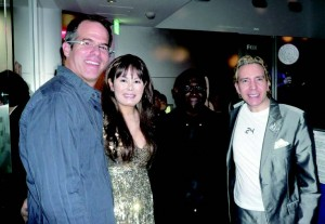 FOX Asia President Ward Platt, Kyoko Spector, ACTV television and film producer Dan Smith, and television personality Dave Spector.