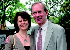 EU Ambassador Hugh Richardson and his wife Lizabeth