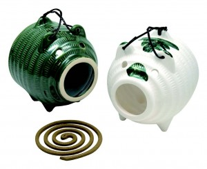 Mosquito coil pots