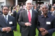 Mauritanian Ambassador Mohamed Ould Jaafar, Zimbabwean Ambassador Stuart Harold Comberbach and Djibouti Ambassador Ahmed Araita Ali
