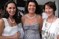 Tatiana Destribats, Christine Faure of France and Judith Fivat of Switzerland