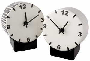 Ceramic clocks by CIBONE