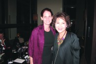 Linda Mueller and Nandhika Varavarn of Bangkok Airways