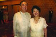 Philippine Ambassador Domingo and Kazuko (Kay) Siazon