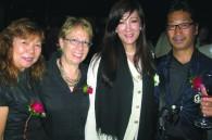 Miyoko and Yoshio Kanno with Fran and Mary