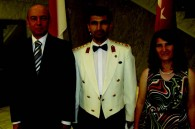 Turkish military attache Colonel and Mrs. Eyyup Gurler and Ambassador Atacanli