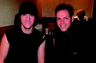 Musician Giovanni Nino and designer Sergio