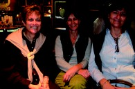 Anne Marie Wollaert of Atlanta with Tokyoites Sally Uden and Ginny Orchard