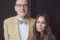Yves Alemany and Anri Schroff at her cooking workshop at the Grand Hyatt