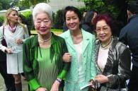 Jane Scolinos, her daughter Elaine, and Grace Saito 8. Komatsu Department Store
