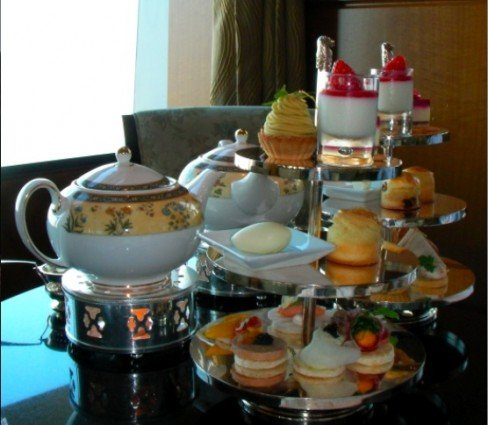 Afternoon Tea at the Ritz Carlton