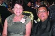 Uruguayan Ambassador Ana Maria Estevez and Infinity Creations president Atul Parekh