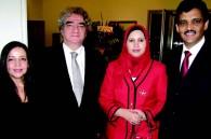 Algerian Ambassador Sid Alo Ketrandji, his wife Amal, Mauritanian Ambassador Mohamed Ould Jaafar, and his wife Ezza