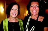 The birthday girls: Alexa Daerr and Christine Faure