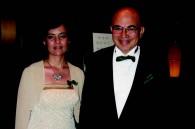 Egyptian Ambassador Walid Abdelnasser and his wife Dahlia