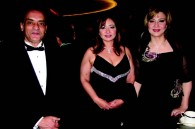Egyptian tourism counsellor Ibrahim Khalil, Egyptian actress Laila Ahmed Eloui, and magazine editor Amal Osman