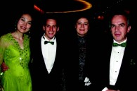 Mexican cultural attache Alejandro Basanez, his fiance Kazumi Hudono, Mexican Ambassador Miguel Ruiz Cabanas, and his wife Martha
