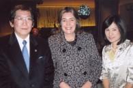 Sony Pictures' Dick Sano, Colombian Ambassador Patricia Cardenas, and Itsumi Sano