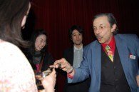 Magician David Letendre wows the crowd
