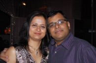 Vishal and Juhee Sinha