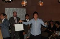 Yoshi Kawamura wins a prize