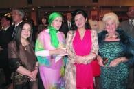 Amal Ketrandji of Algeria, Jamilah al-Otaibi of Kuwait, Zahra Al Nowais of the UAE, and Lilo Maruyama