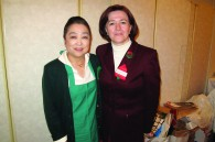 Hiroko Inayama and Florina Neagu