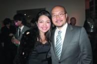 Venezuelan Ambassador Seiko Ishikawa and his new wife Erika