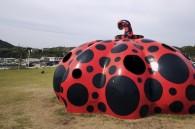 Red Pumpkin - Yayoi Kusama, all photos: Owen Schaefer