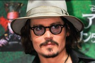 Johnny Depp at a press conference