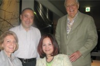 Marie Anderson, Bill and Charo Ireton, and Ron Anderson at the Grand Hyatt