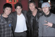 Actor Hide, Tekken star Jon Foo, K1 fighter Takayuki Kohirumaki, and dancer Joey Beni