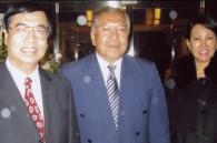 Vietnamese Ambassador Phu Binh Nguyen, Malaysian Ambassador Datok Shaharuddin Mohd. Som, and his wife Datin Shaharuddin
