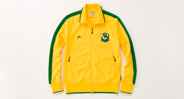 Nike True Colors Brazil line, Nunca
