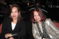 Pop singer Charito and Charo Ireton