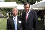 British Ambassador David Warren and Deputy Minister of Foreign Affairs Yoichi Otabe