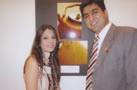 Rahman and Amira Hamid of the Pakistani embassy