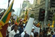 Sri Lanka protests U.N. war crime investigations
