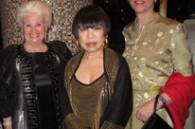 Lilo Maruyama, designer Junko Koshino, and Bickie Comberbach of Zimbabwe