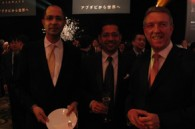 HIS's Bobby Haque and ANA InterContinental GM Fergus Stewart