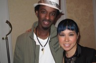 Pop singers K'Naan and Ai