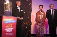 Daniel H. Sayre, HIH Princess Takamado, and South African Ambassador Gert Grobler
