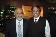 M. Sadana and Ashoka Restarurant president B.S. Varma