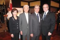 Akio and Emiko Matsuzaki with Cuban Ambassador Jose Fernandez Rodriguez