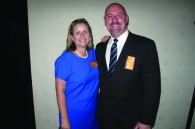 Asian Tigers' Mary Saphin and Todd Macdonald