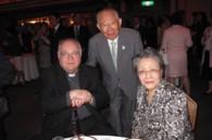 Holy Sees Archibishop Alberto Bottari de Castello, and Shigejiro and Fumiko Tottori